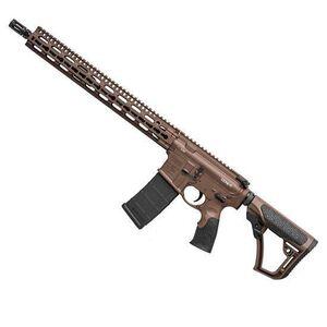 """Daniel Defense M4V11 AR-15 Semi Auto Rifle 5.56 NATO 16"""" Barrel 30 Rounds SLIM Rail 15.0 Collapsible Stock Mil Spec+ Cerakote 02-151-00257-047"""