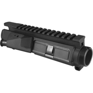 VLTOR Weapon Systems MUR Modular Upper Receiver AR-15 with Forward Assist/Shell Deflector Flat Top Forged 7075 Aluminum Black