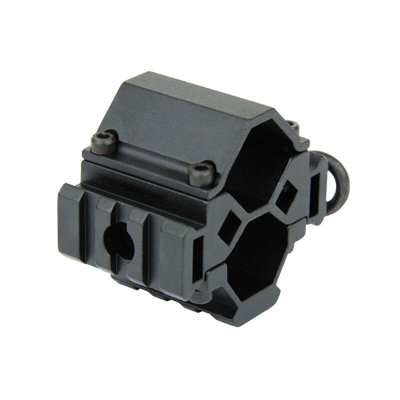 TacFire Shotgun Tri-Rail Barrel Mount QD Sling Swivel Black MSG006