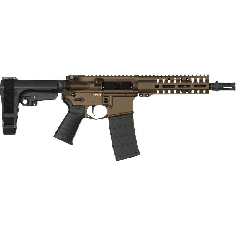 "CMMG Banshee 300 Mk4 .300 Blackout AR-15 Semi Auto Pistol 8"" Barrel 30 Rounds RML7 M-LOK Handguard CMMG Micro/CQB RipBrace Midnight Bronze Finish"