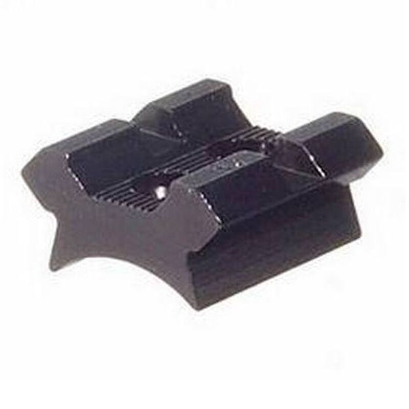 Weaver Detachable Top-Mount Base Interarms Mini-Mark X Rear Standard Mount No.23 Black 48023