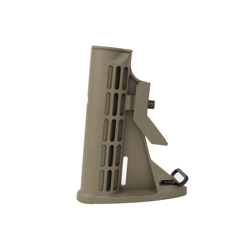 TacFire AR-15 Commercial M4 Style AR-15 Stock Polymer Tan MAR083-T