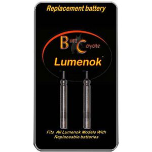 Burt Coyote Lumenok Replacement Batteries, Pack of 2, RB