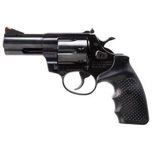 "Armscor AL9.0 9mm Luger Revolver 3"" Barrel 6 Rounds Rubber Grips Blued Steel Finish"