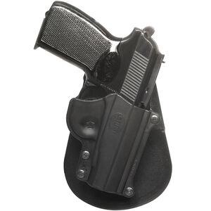 Fobus Roto-Paddle/Belt Holster Makarov 9x18/.380 Right Hand Polymer Black MAK1RP