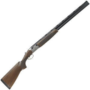 """Beretta 686 Silver Pigeon I 28 Gauge O/U Break Action Shotgun 28"""" Vent Rib Double Barrel 2-3/4"""" Chambers 2 Rounds Low Profile Engraved Silver Receiver Walnut Stock with Schnabel Forend Blued Barrel Finish"""