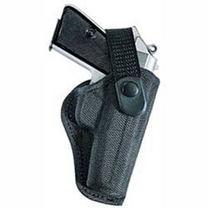 "AccuMold Sporting Holster 5-1/2"" Barrels Size 18 Right Hand Polyknit Black"