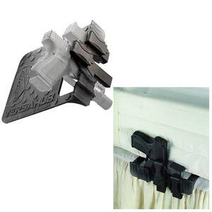 VersaCarry VersaHub Bedside Mounting System Ambidextrous Polymer Black VCHUB
