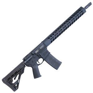 "HM Defense Defender M5L 5.56 NATO AR-15 Semi Auto Rifle 16"" Barrel 30 Rounds Free Float M-LOK Hand Guard Collapsible Stock Matte Black"