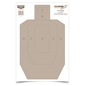 """Birchwood Casey IPSC Practice Target 12"""" x 18"""" 100 Pack"""