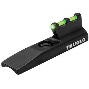 TRUGLO Rimfire Rifle Front Sight fits Most Marlins Green Fiber Optic Steel Black