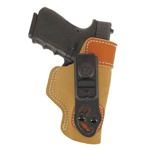 DeSantis Sof-Tuck Beretta 84/85 Inside the Waistband Belt Holster Left Hand Leather Natural 106NB75Z0