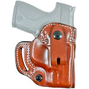 DeSantis The Osprey Ruger LC9/EC9S IWB/OWB Right Hand Leather Tan