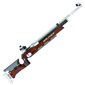 Walther LG400 Wood Stock .177 Pellet Single Shot PCP Air Rifle Adjustable Wood Stock