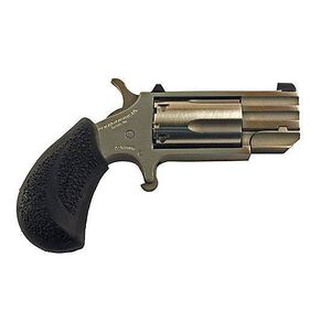 "North American Arms PUG Revolver .22WMR 1"" Barrel 5 Round Rubber Grip Stainless"