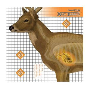 "Champion Deer X-Ray Target 25""x25"" 6 Pack"