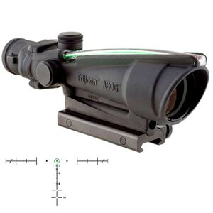 Trijicon ACOG 3.5x35 Dual Illuminated Green Horseshoe .223 Ballistic Reticle with TA51 Mount