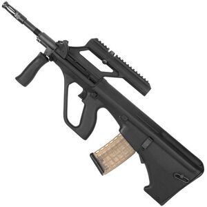 "Steyr AUG A3 M1 Semi Auto Rifle .223 Rem/5.56 NATO 16"" Chrome Lined Barrel 30 Round AUG Pattern Magazine with 1.5X Optic Matte Black Finish AUGM1BLKO"