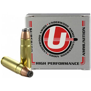 Underwood Ammo .458 HAM'R Ammunition 20 Round Box 300 Grain Hornady Jacketed Hollow Point Projectile 2100 fps
