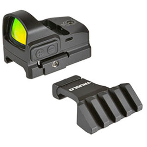TRUGLO Tru-Tec Red Dot Sight 3 MOA Dot CR2032 Battery Offset Picatinny Mount Black Finish