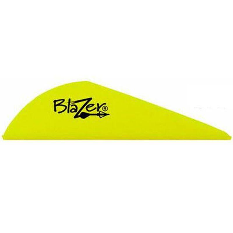 "Bohning Blazer Vanes 2"" Solid Neon Yellow 100 Pack 10832NY2"