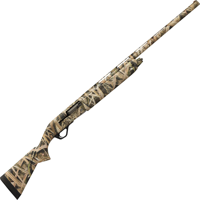"Winchester SX4 Waterfowl Hunter Compact 12 Gauge Semi Auto Shotgun 24"" Barrel 3"" Chamber 4 Rounds FO Front Sight Synthetic Stock MOSGB Camo Finish"