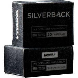 Gorilla Silverback .45 ACP 230 Grain SCHP 20 Round Box