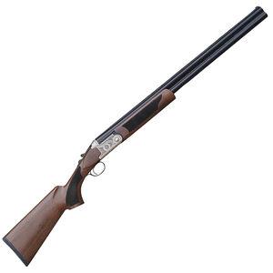 "Pointer Acrius 20 Gauge O/U Break Action Shotgun 28"" Barrel 3"" Chamber 2 Rounds F/O Sight Walnut Stock Nickel and Black Finish"