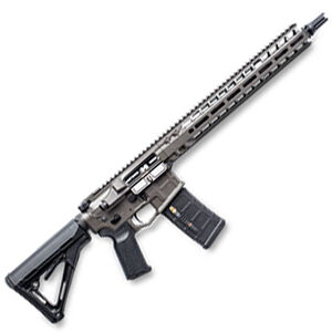 "Radian Weapons System Model 1 AR-15 Semi-Auto Rifle .223 Wylde 14.5"" Barrel 16"" OAL 30 Rounds Billet Upper/Lower SilencerCo ASR Muzzle Device Free Float M-LOK Hand Guard Gray Finish"