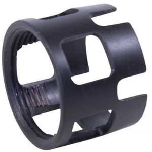 GunTec AR15 Extreme Duty Wide Castle Nut for Car/M4 Buffer Tube Gen 3 Nitride Black Finish