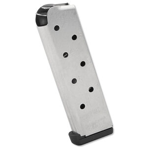 Chip McCormick POWER MAG+ 1911 Full Size Magazine .45 ACP 8 Rounds Stainless Steel M-PMP-45FS8