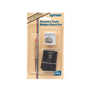 Lyman Shooter's Scale Weight Check 10 Piece Set 60.5 grains total Storage Pouch