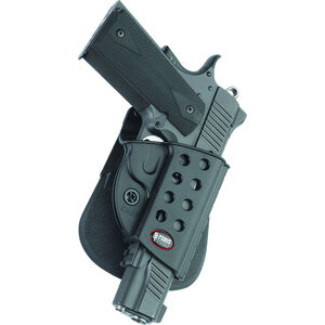 Fobus Evolution Holster 1911 Right Hand Roto-Paddle Attachment Polymer Black
