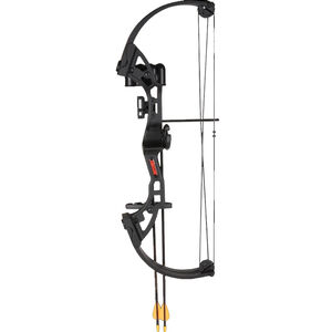 Bear Archery Brave Youth Compound Bow Right Hand Black