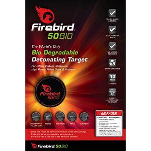 100 Firebird USA 50BIO Targets Biodegradable Detonating Targets Case of 100 Targets 50BIO-PACK