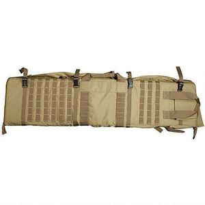 "NcSTAR Rifle Case/Shooting Mat 48"" Padded Synthetic Fabric Tan"