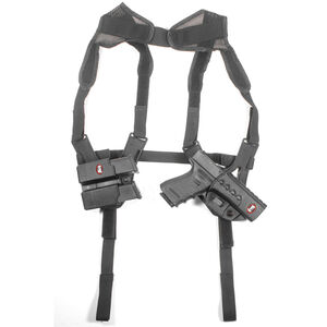 Fobus Ambidextrous Shoulder Harness For All ROTO Holsters and Pouches Nylon Black