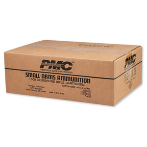 PMC X-TAC 5.56 NATO Ammunition 1000 Rounds M855 FMJ 62 Grains 556K