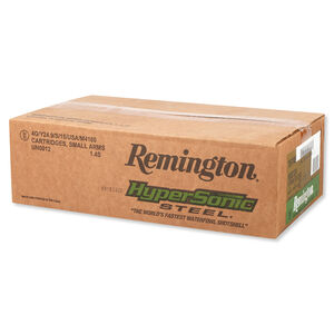 """Remington HyperSonic Steel 12 Gauge Ammunition 250 Rounds 3"""" #4 Steel 1 1/8 Ounce HSS124"""