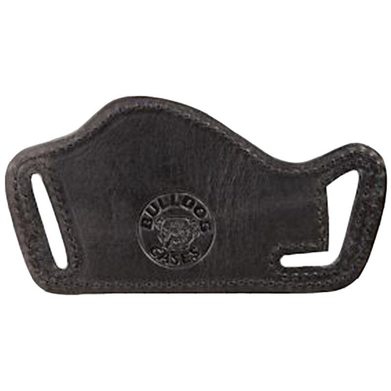 Bulldog Lay Flat Holster Large Auto Belt Slide Leather Right