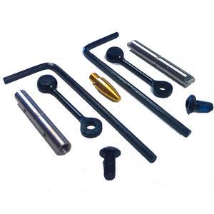 KNS Precision, Inc. Non-Rotating Trigger/Hammer Pins for S&W M&P 15-22, Gen 2 Mod 2 Black Finish MP15-22 NRTHP