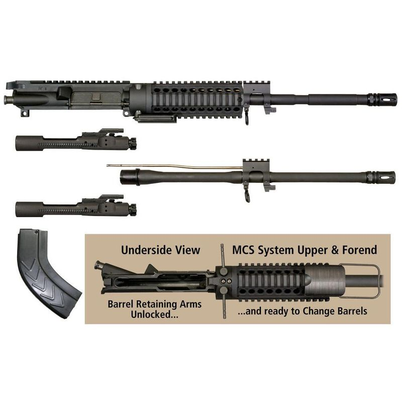Windham Weaponry AR-15 MCS Multi-Caliber  300 AAC Blackout/7 62x39mm Upper  Receiver Assembly Kit KITMCS3