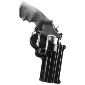 Fobus Holster S&W K/L Frame Revolvers/Taurus 431,66 Right Hand Belt Attachment Polymer Black