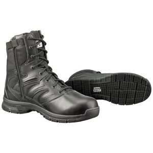 "S.W.A.T. Force 8"" SZ Men's Boot 8.5 Reg Leather/Nylon Blk"