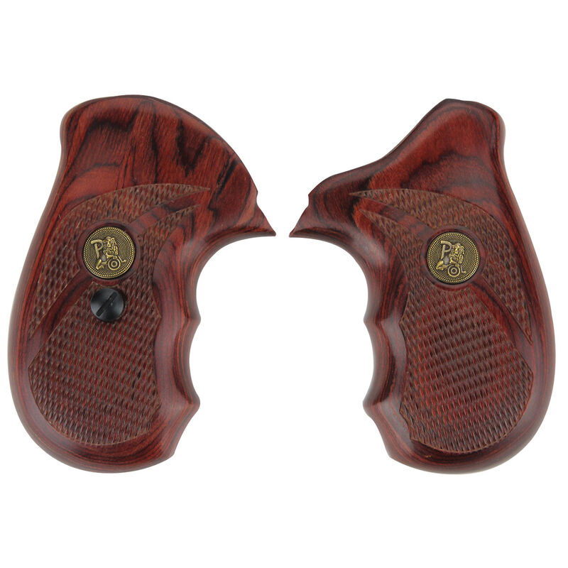 Pachmayr Renegade Deluxe Grips Taurus Model 85 Checkered Rosewood Laminate 63080