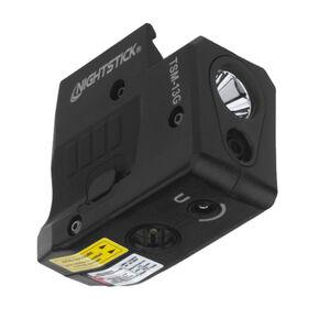 Nightstick TSM-13G Subcompact Weapon Light For Sig Sauer P365 150 Lumen LED Light Green Laser Aluminum Black