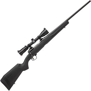 """Savage 110 Engage Hunter XP 6.5 PRC Bolt Action Rifle 24"""" Barrel 2 Rounds with 3-9x40 Scope Synthetic Stock Black Finish"""
