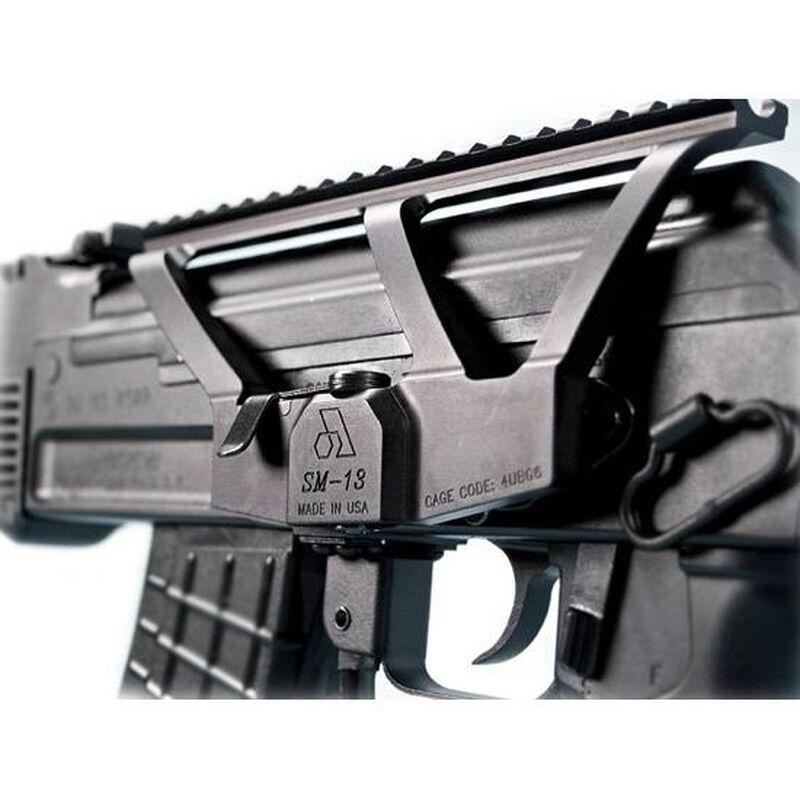 Arsenal AK-47 Scope Mount Iron Sight Relief Cut Low Profile Design Aluminum Black
