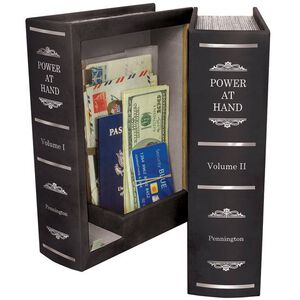 Personal Security Products Peace Keeper Double Book Diversion Gun/Personal Safe Black Finish