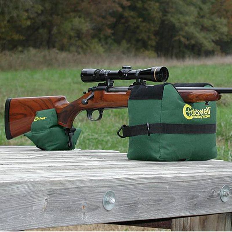 Caldwell Front and Rear Shooting Bags Unfilled